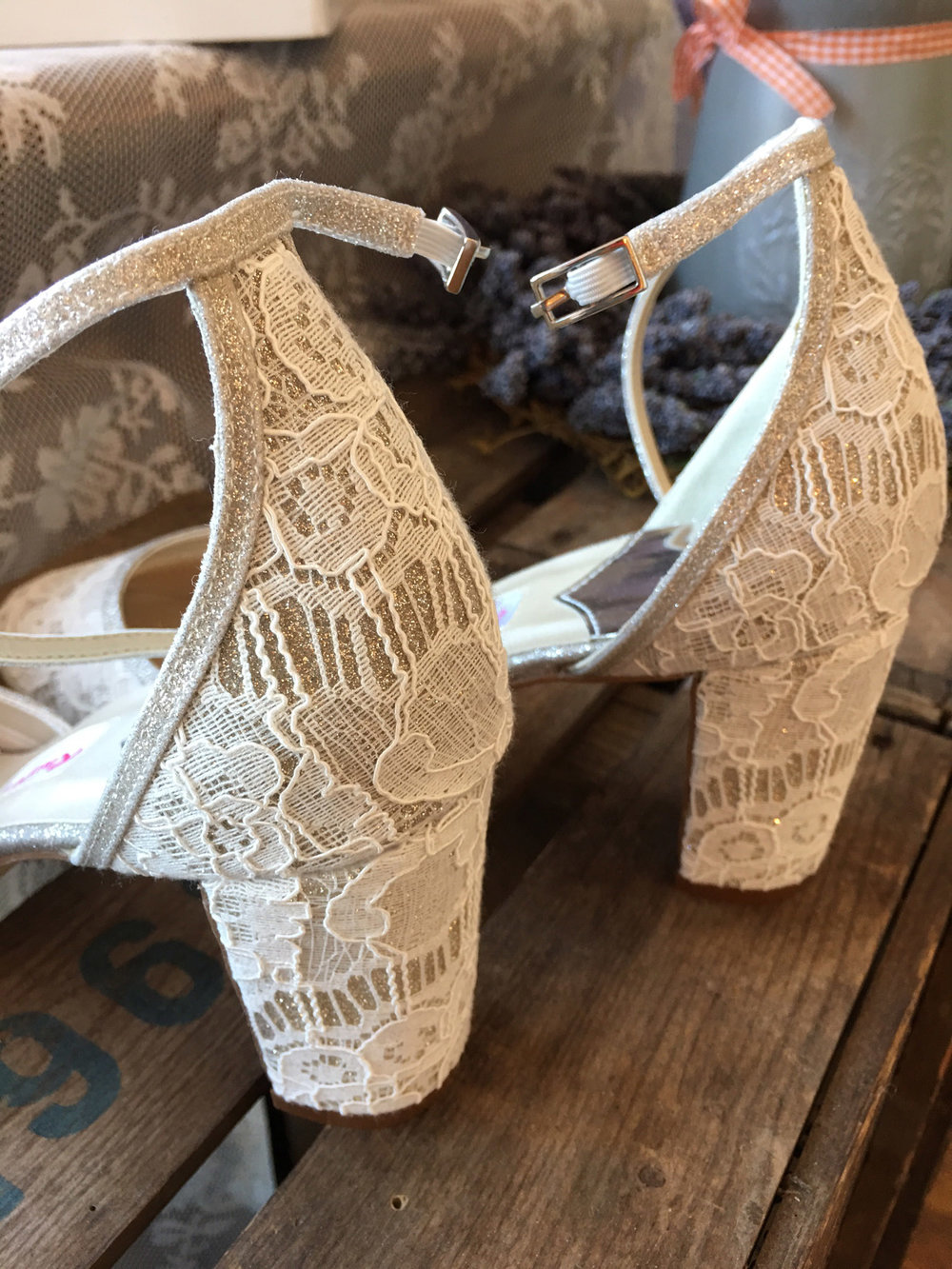 Lavinia shoe from Rainbow CLub available at The Wedding Room