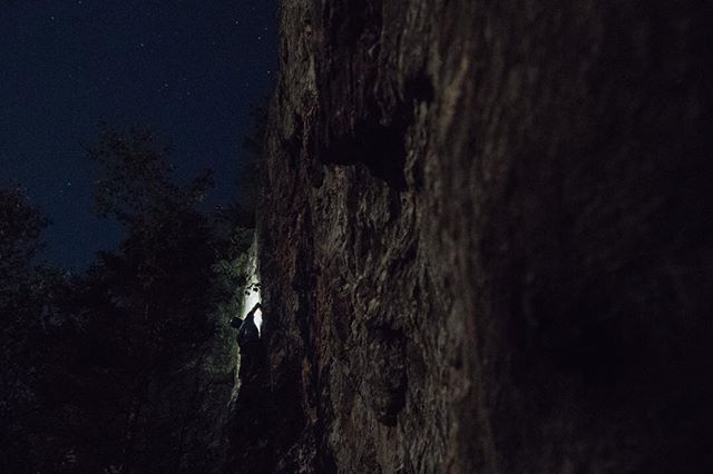 @jmduffy77 making it happen by headlamp and later by the full moon.