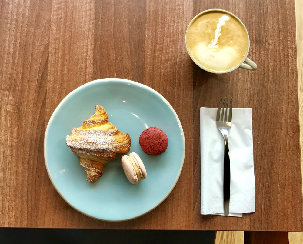 Start your day with us. - Fresh pastries and coffee done right!