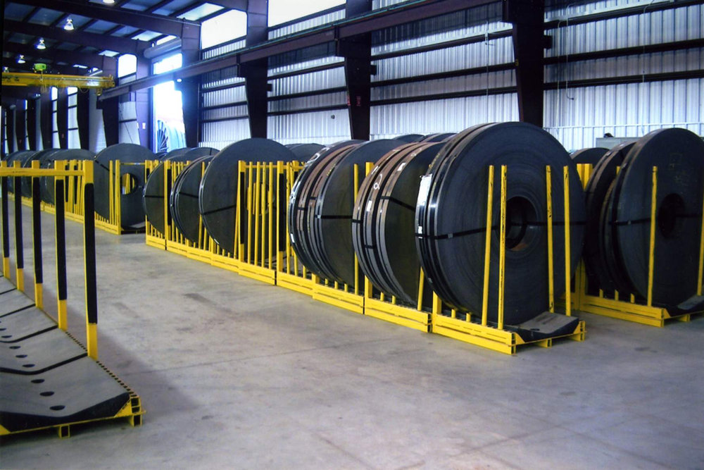 Mobile Slit Coil Rack