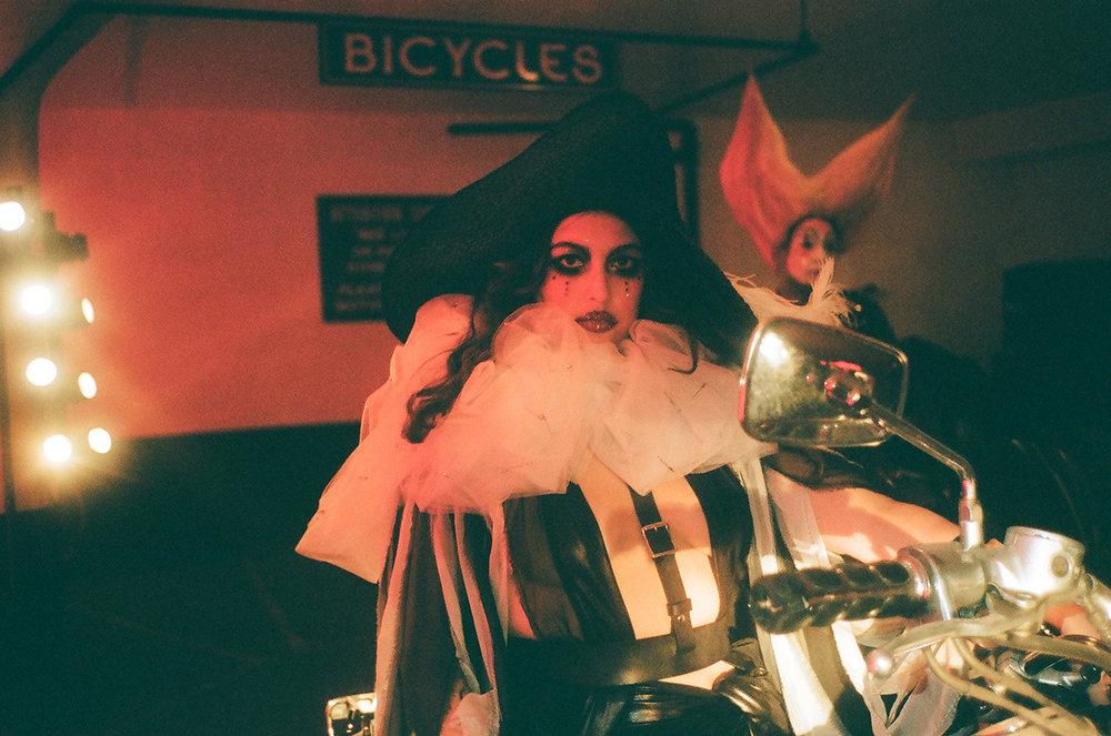 Performers on bikes.jpg
