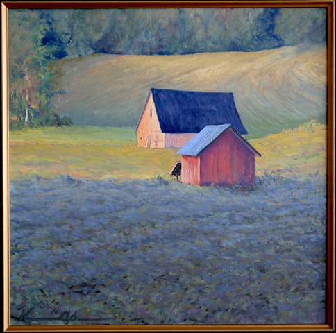 Early Light   20 x 20   Oil on Canvas SOLD