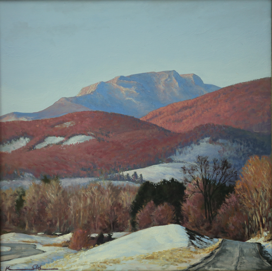 Early Spring   20 x 20   Oil on Canvas (sold)