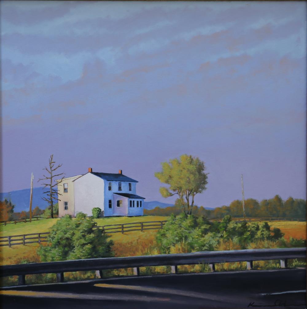 Across 211 20 X 20 Oil on canvas