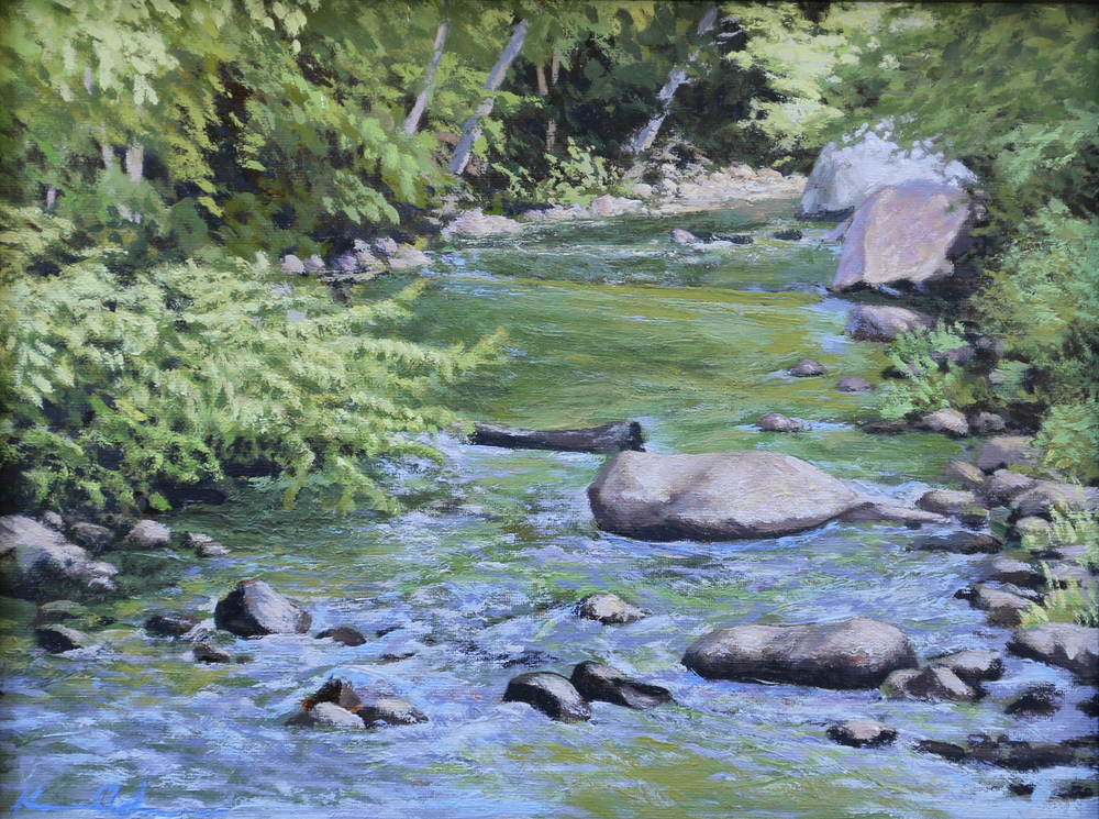 Thornton River  9 X 12  oil on canvas panel  SOLD
