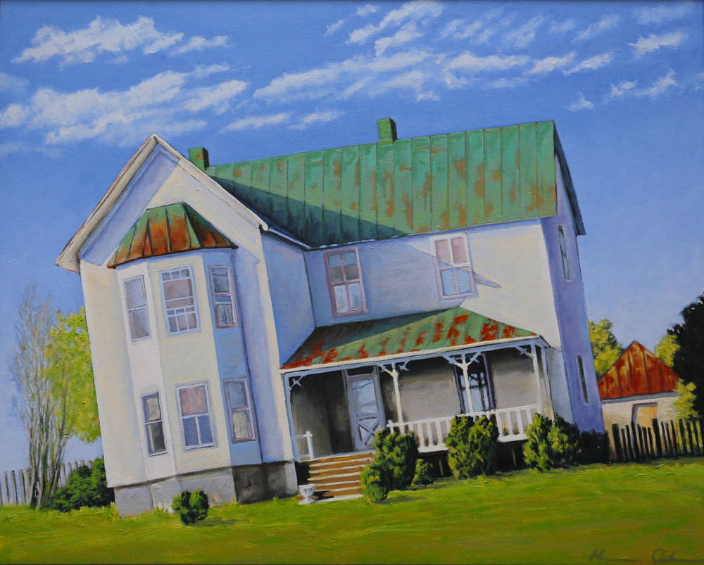Jake's House 24 X 30 oil on canvas