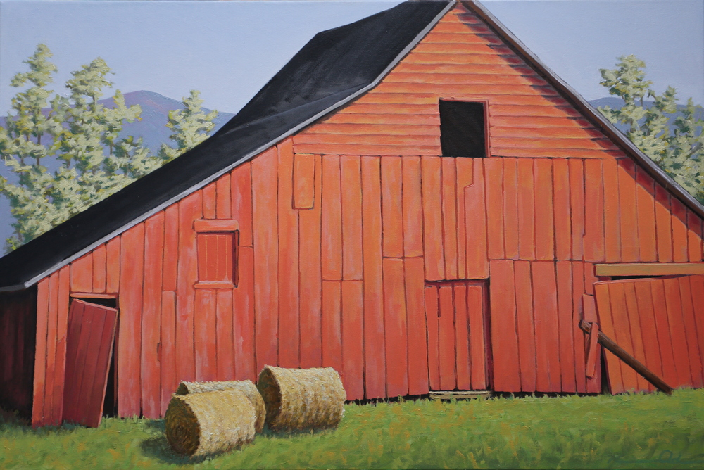 Along 231 24 X 36 oil on canvas  SOLD