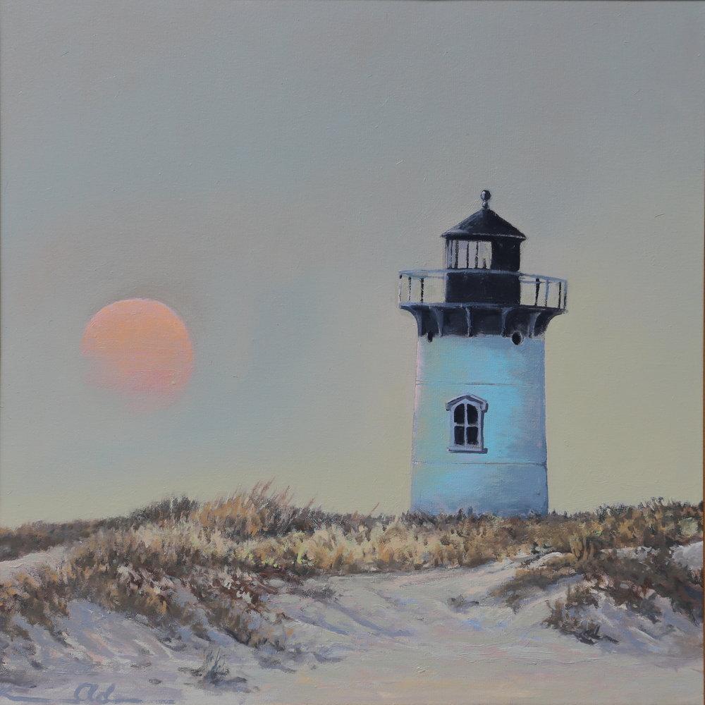 Morning Haze 24 X 24 oil on canvas