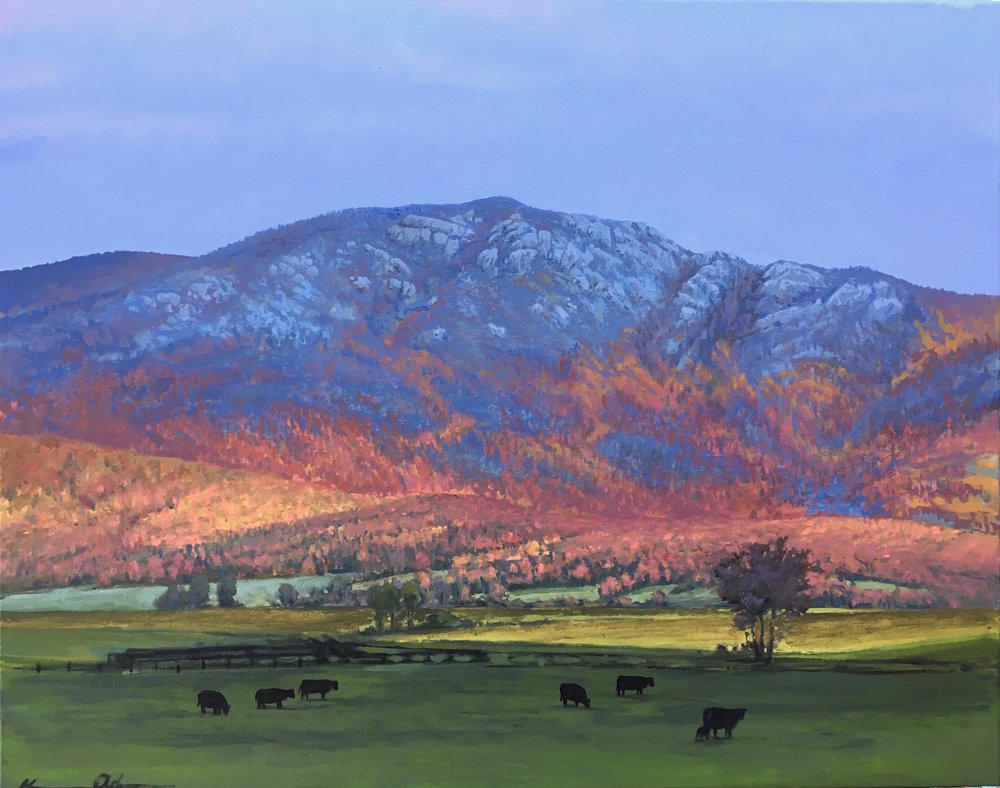 Old Rag 24 X 30 oil on canvas SOLD