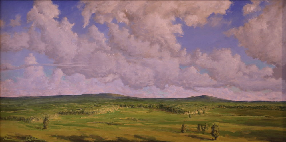 Big Meadows: June  18 X 36 oil on canvas
