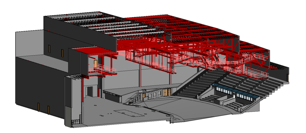 3D Laser Scanning for Theaters