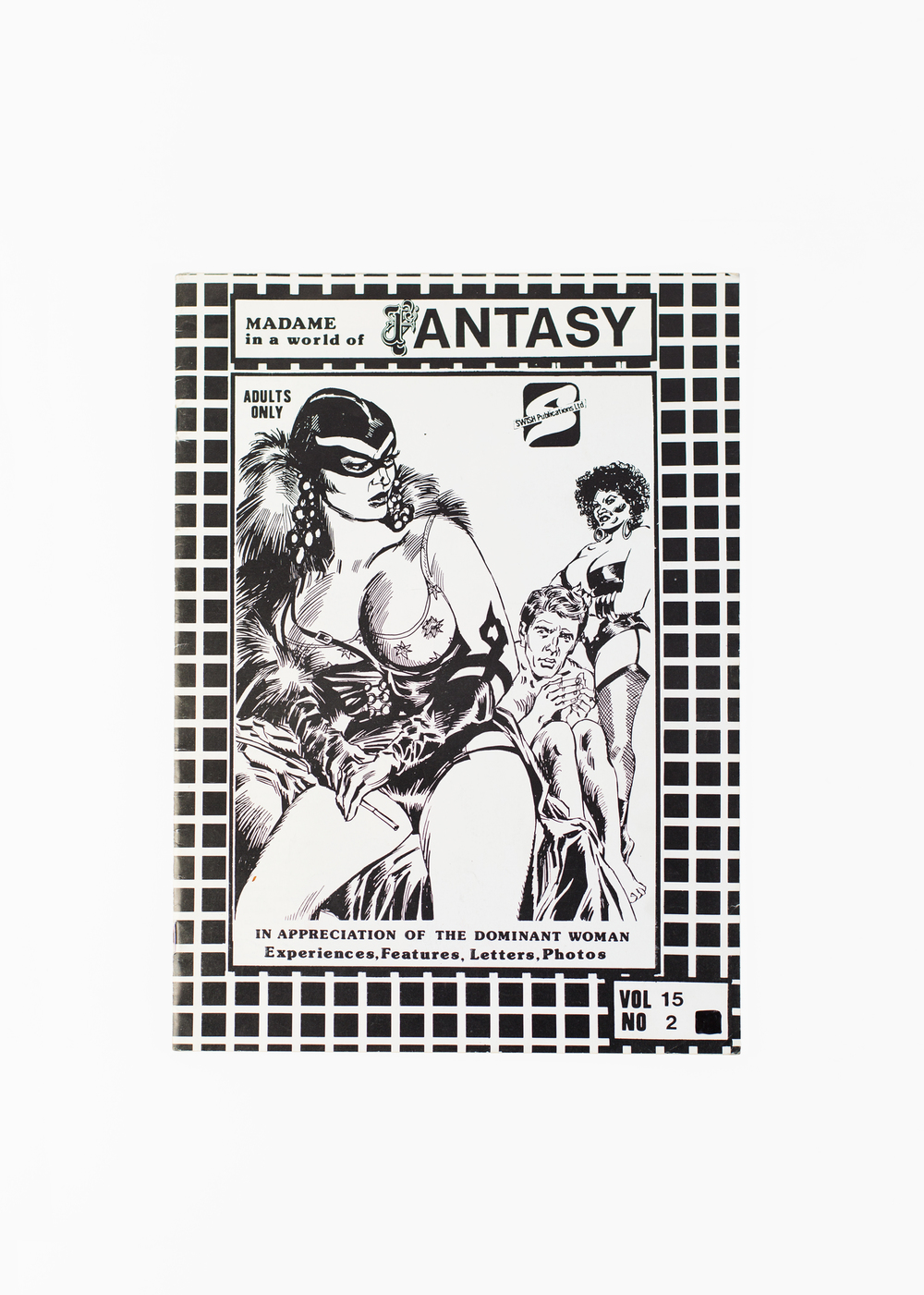 "Madame in a World of Fantasy</br>66 pages 21 x 30 cm</br>€25 <a href=""https://www.paypal.com/cgi-bin/webscr?cmd=_s-xclick&hosted_button_id=574ZR8ZH86PKE"">Add to Cart</a>"