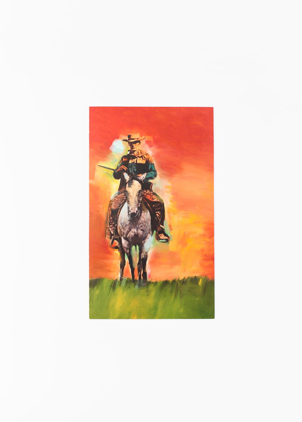"""Richard Prince - Cowboys</br>Invitation Card 14 x 23.5 cm</br>Gagosian 2013</br>€25 <a href=""""https://www.paypal.com/cgi-bin/webscr?cmd=_s-xclick&hosted_button_id=AQZQHB2UU4Z7N"""">Add to Cart</a>"""