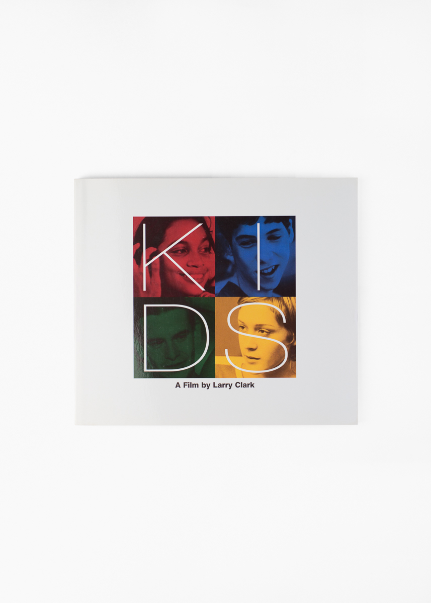 Larry Clark - KIDS</br>160 pages 20.8 x 18 cm</br>Grove Press 1995</br>Sold Out