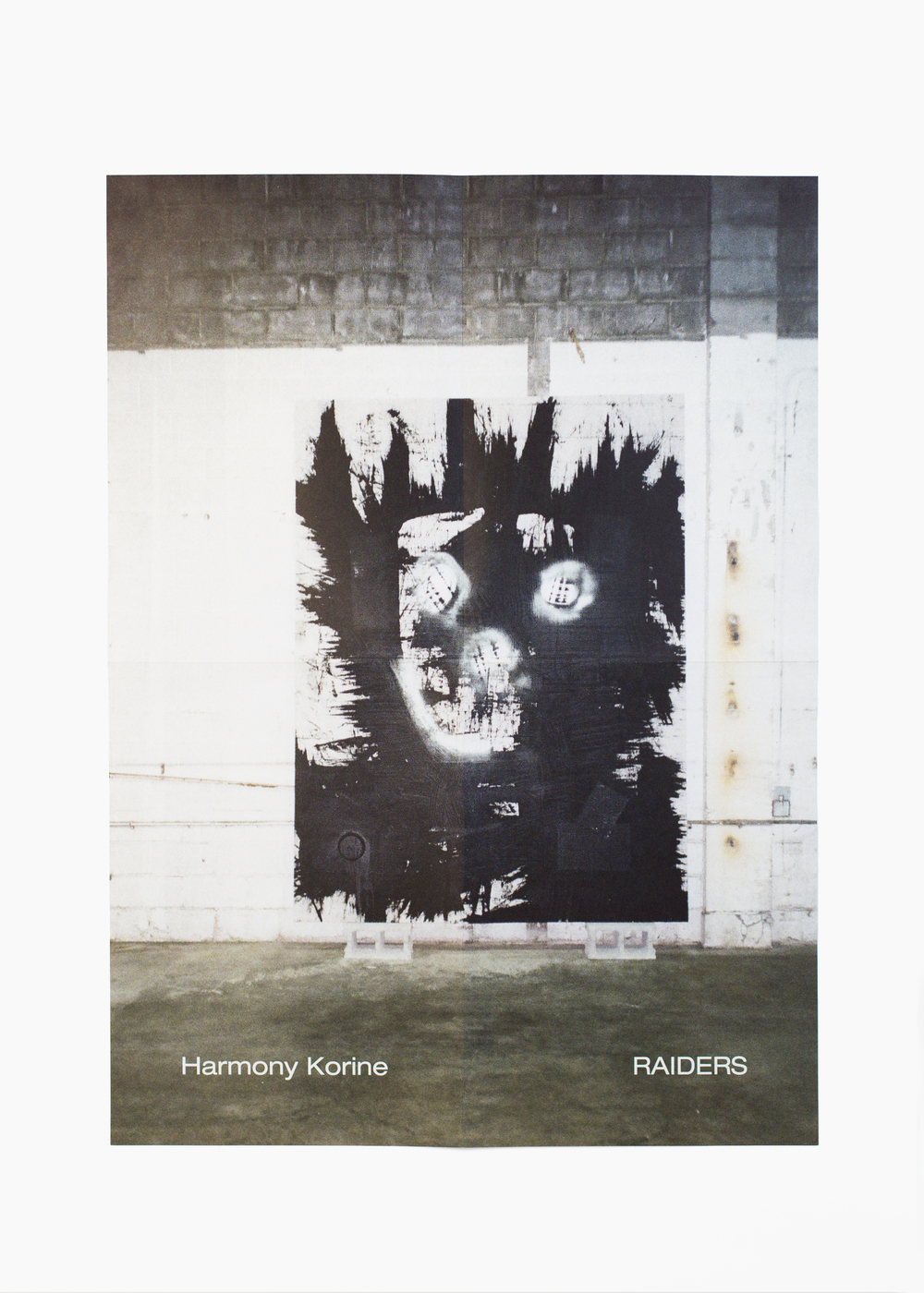 "Harmony Korine - Raiders</br>Exhibition poster 37 x 51 cm</br>Gagosian 2015</br>€50 <a href=""https://www.paypal.com/cgi-bin/webscr?cmd=_s-xclick&hosted_button_id=JKR5EVKWMFXWG"">Add to Cart</a>"