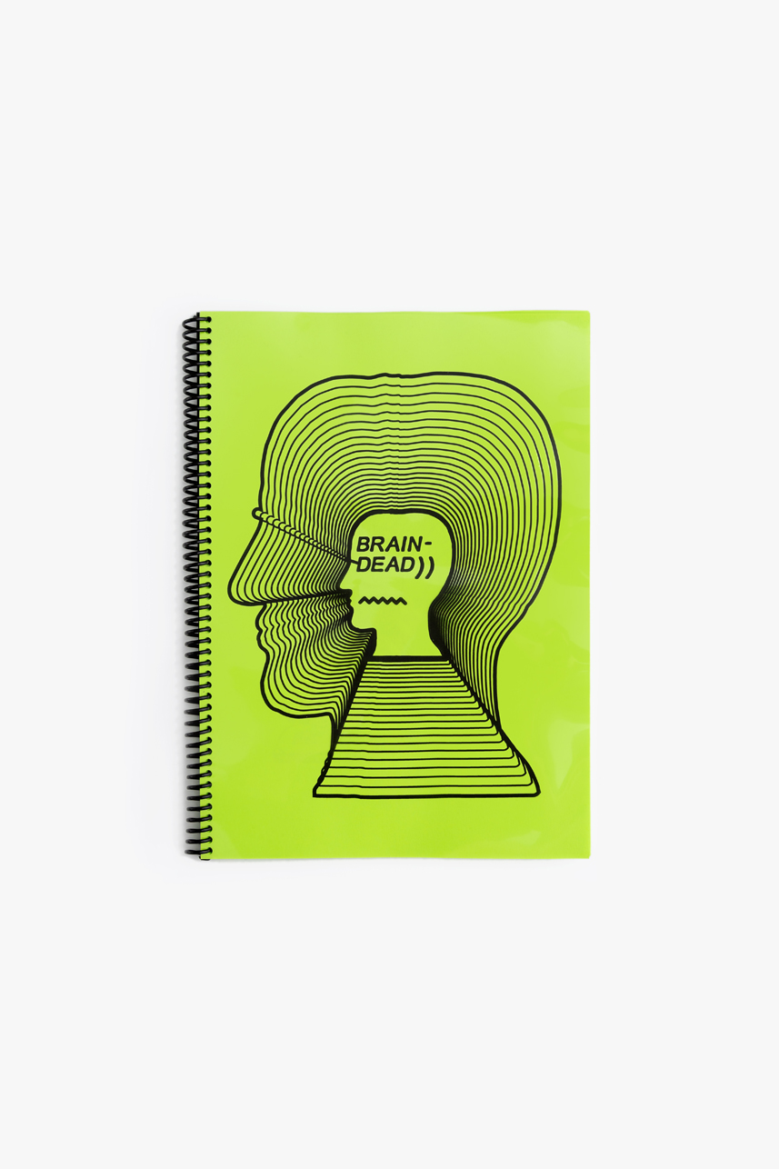 BRAIN DEAD - THE FIRST 2 YEARS  second edition  98 PAGES 21 X 29.7 CM  EDITION OF 200  OMMU 2017  SOLD OUT
