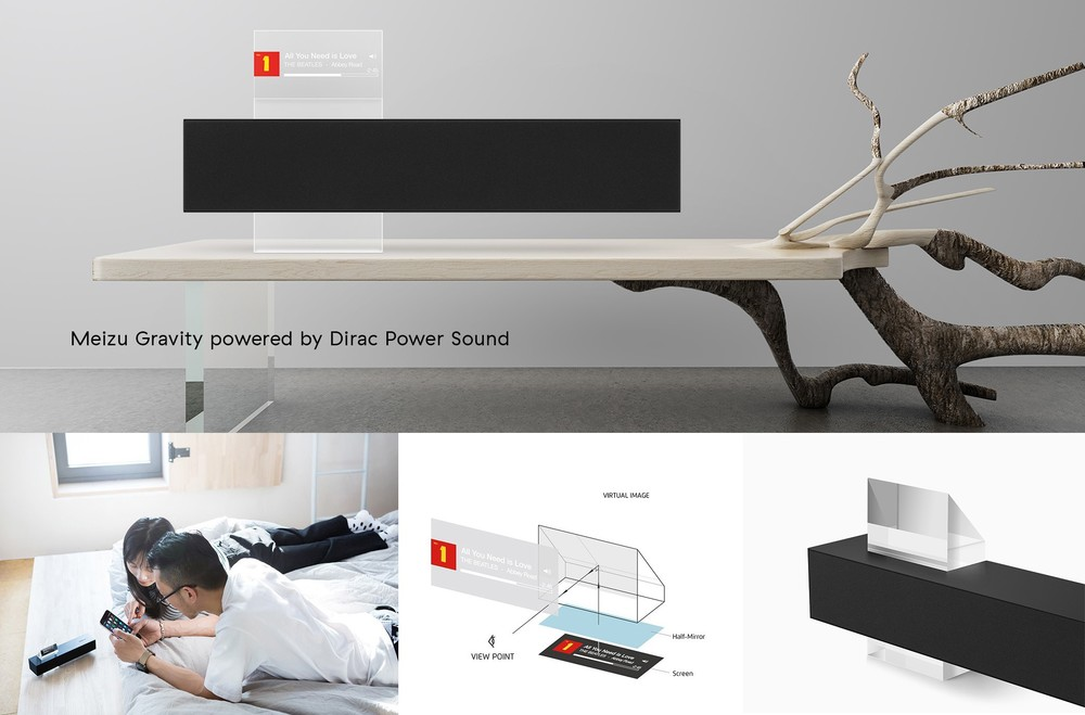 Meizu Gravity Speaker Optimized by Dirac Power Sound