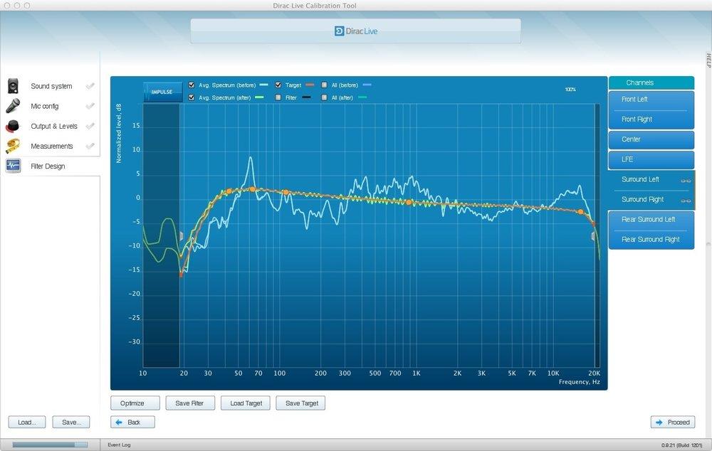 Dirac Live Room Correction - digital room correction software