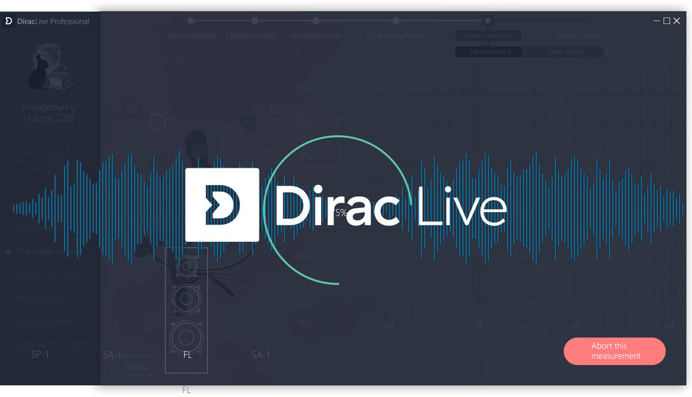 Dirac Sensaround VR - sound optimization technology