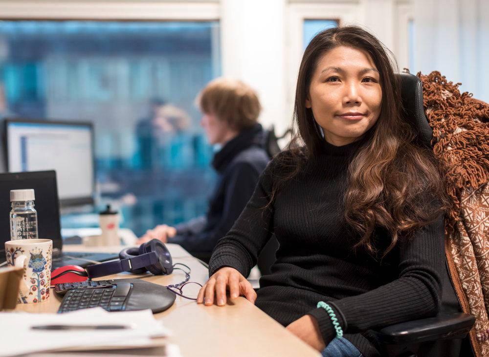 Antia Chen - Software Developer, High Performance