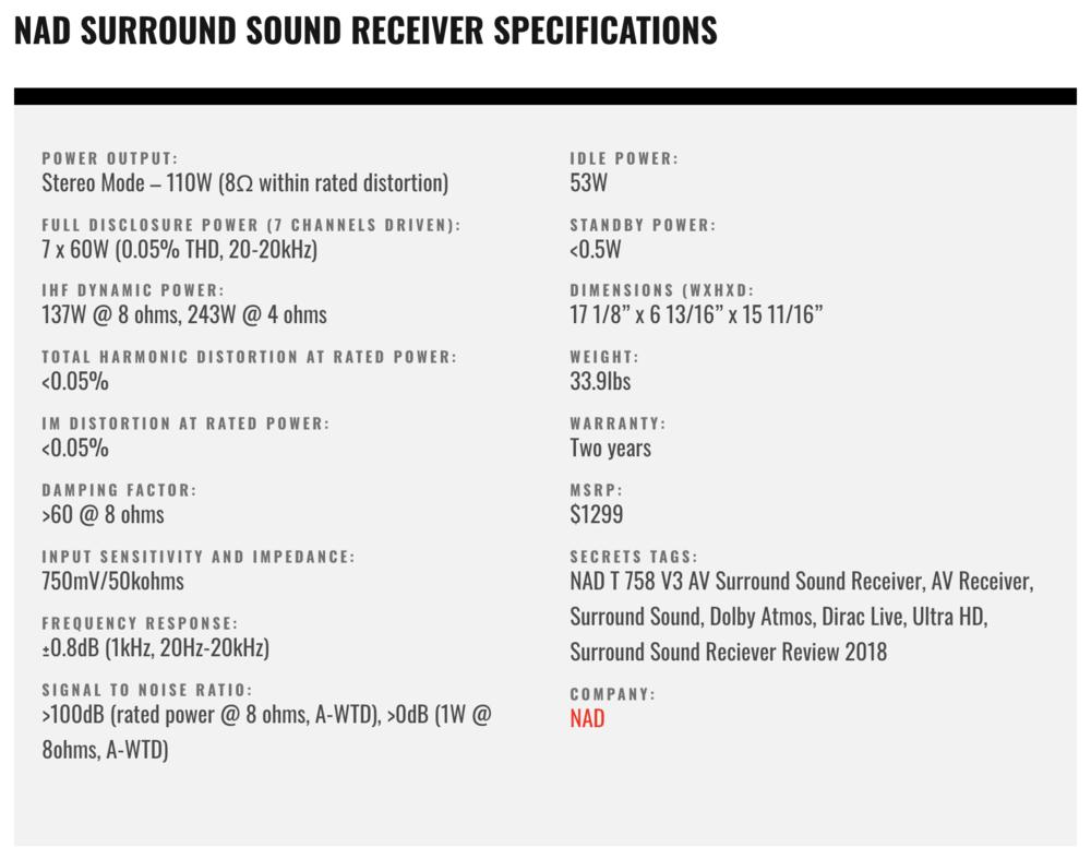 An In Depth Review Of The Nad T758 Dirac Live Snapshoot Studio Series Stereo Headphone Amplifier Circuit Screenshot 2018 07 05 130855