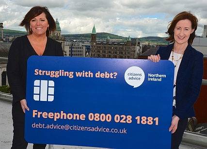 niHE'S, JENNIFER HAWTHORNE & CITIZENS ADVICE'S KATHY MCKENNA ENCOURAGE TENANTS TO CALL THE FREEPHONE DEBT LINE