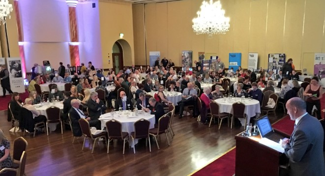 Colm McDaid welcomes all to the 17th Annual Community Conference