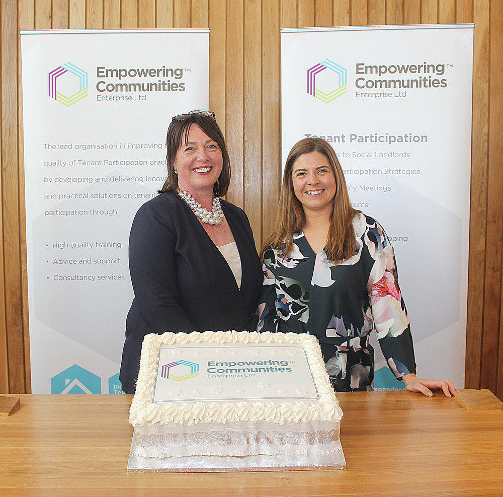 Sheenagh McNally and Laura O'Dowd, the women at the helm of Empowering Communities.