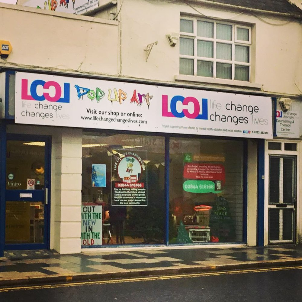 Shopfront at 41 Market Street, Downpatrick