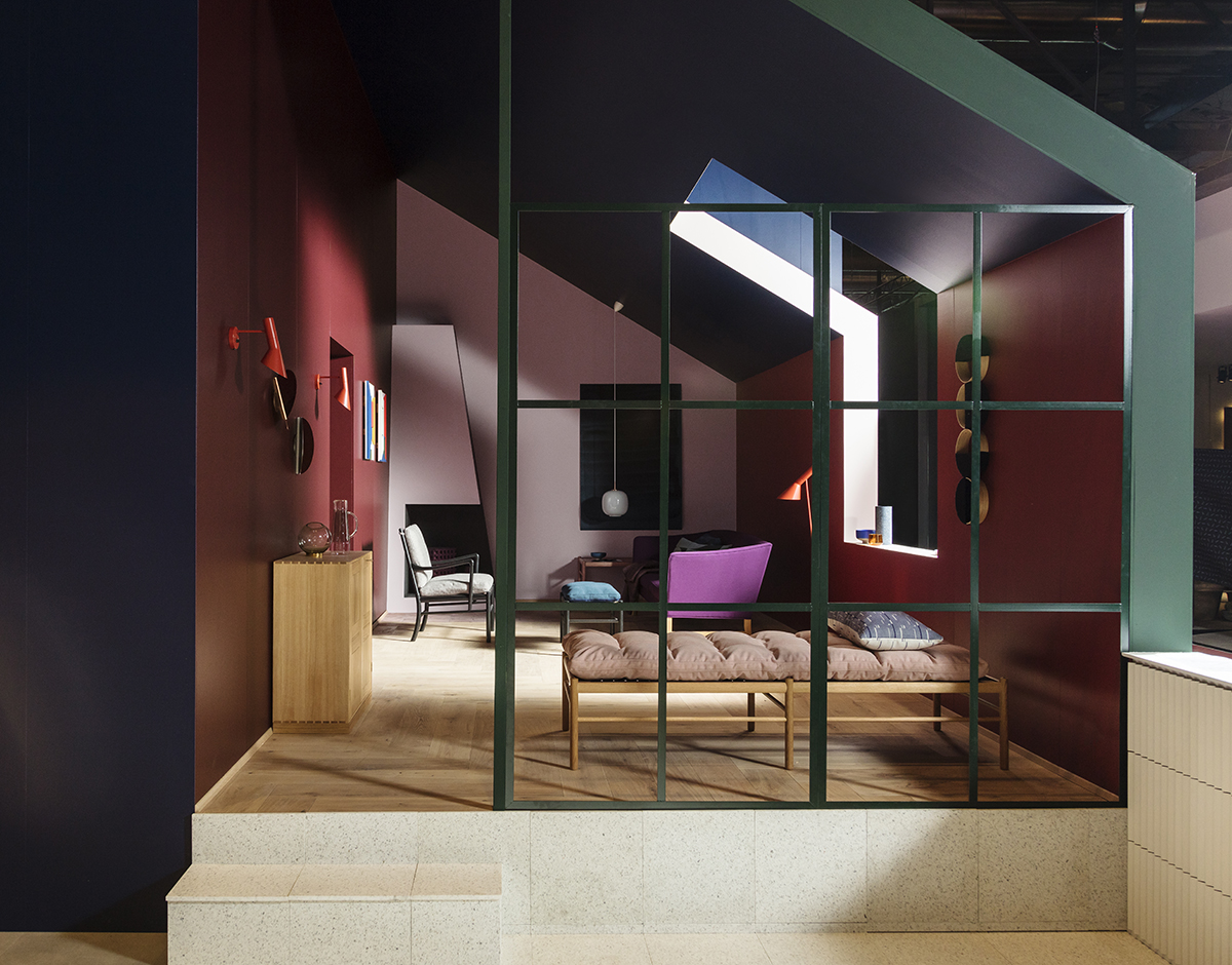 "Interior Our New Office Part I – With ""Fri"" By Fritz Hansen & Minimum"