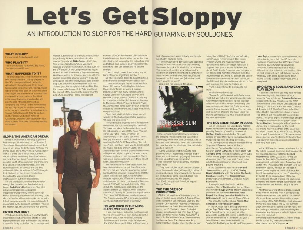 Echoes Magazine Feb 2008