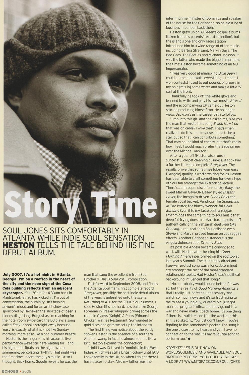 Echoes Magazine Nov 2008