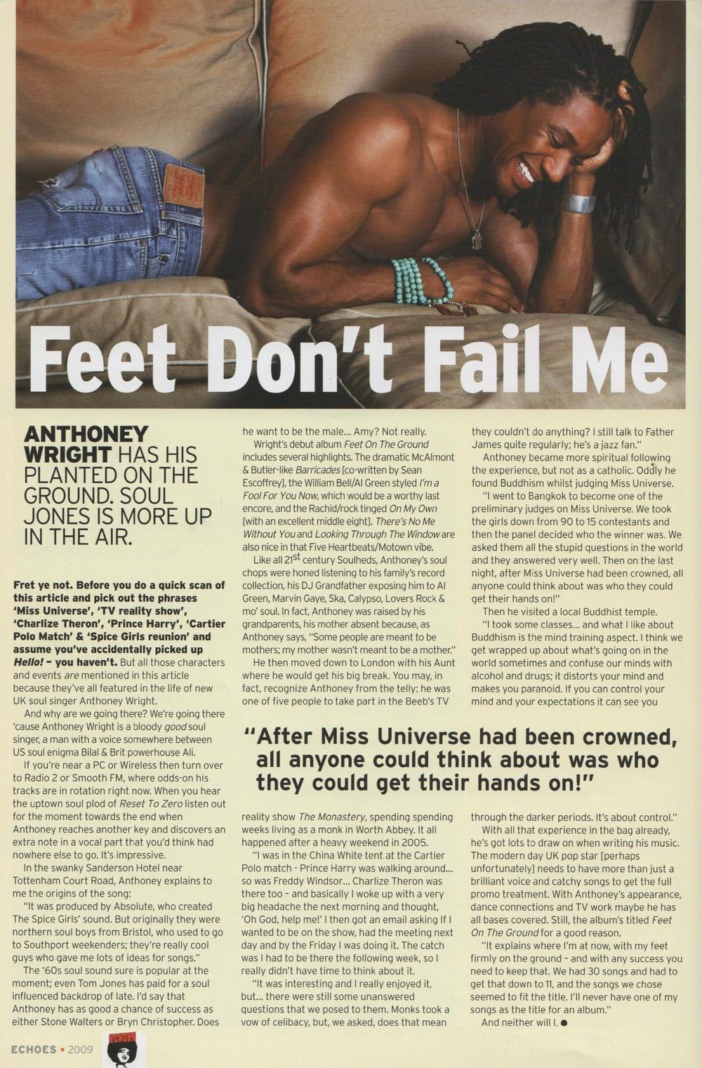 Echoes Magazine Apr 2009