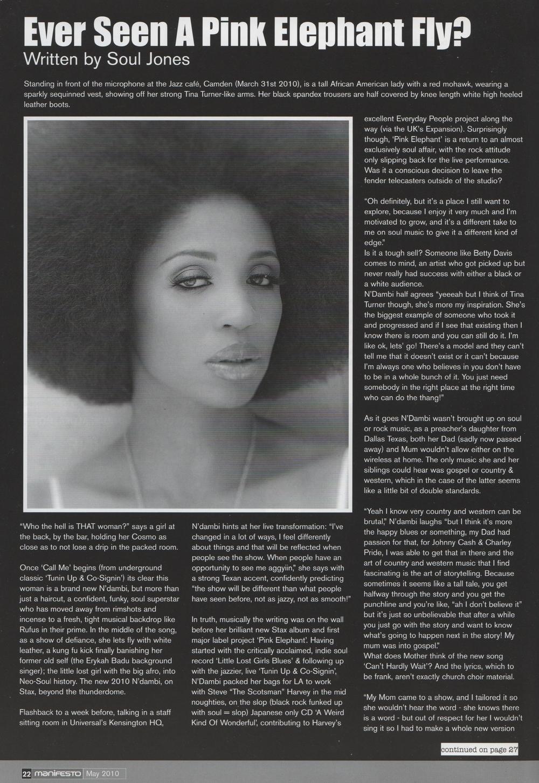 Manifesto Magazine May 2010