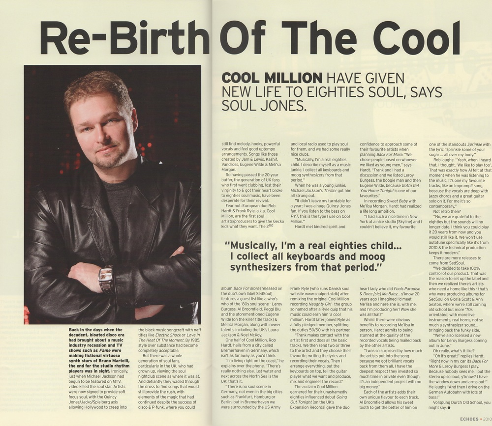 Echoes Magazine Jun 2010
