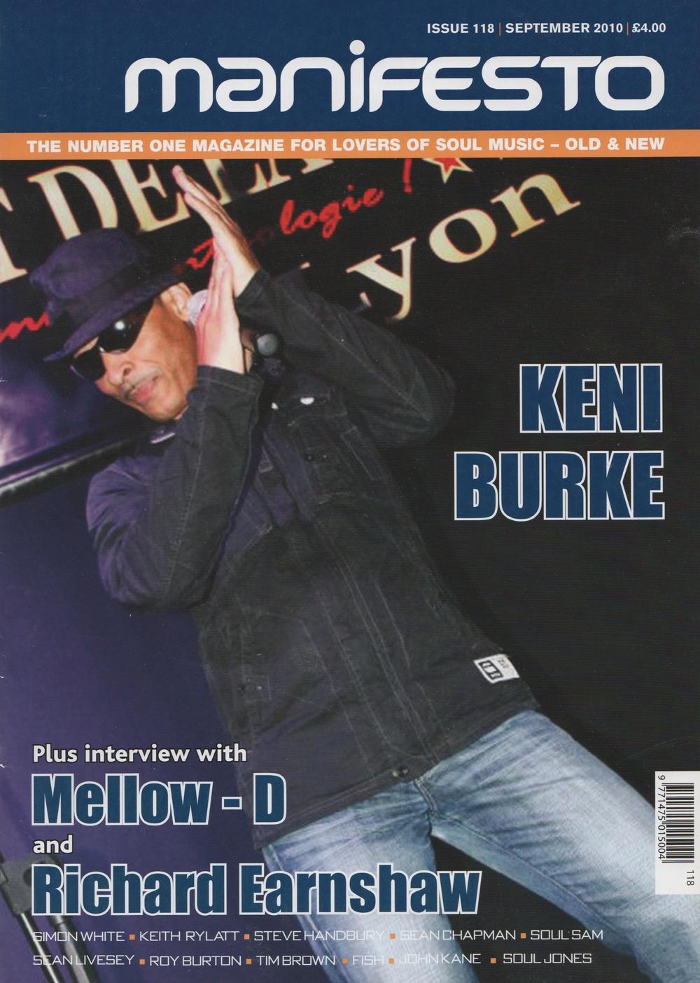 Manifesto Magazine Sept 2010