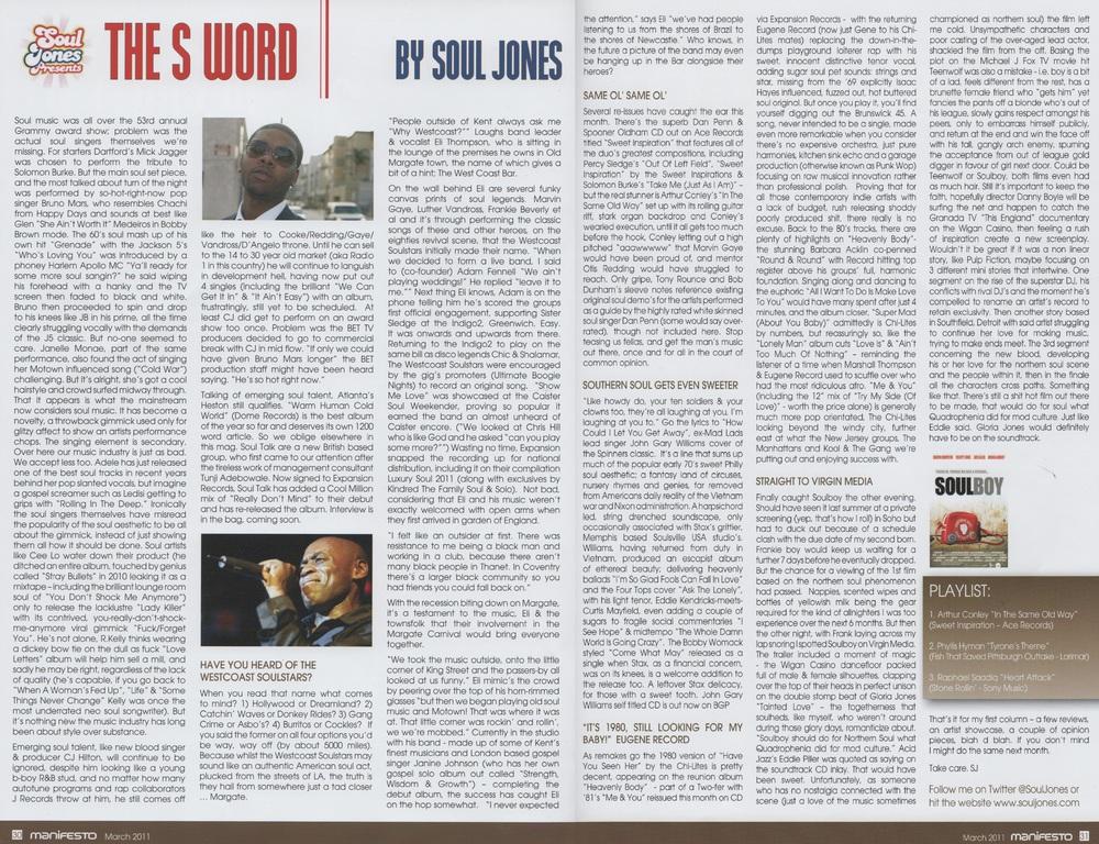 Manifesto Magazine Mar 2011