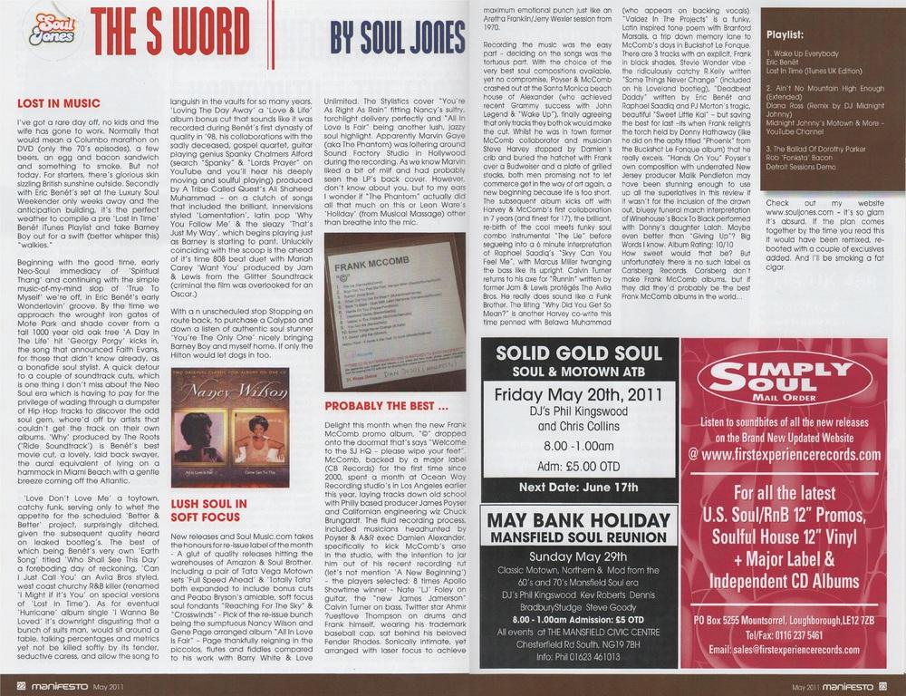 Manifesto Magazine May 2011