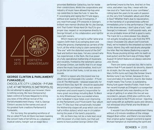 Echoes Magazine May 2015