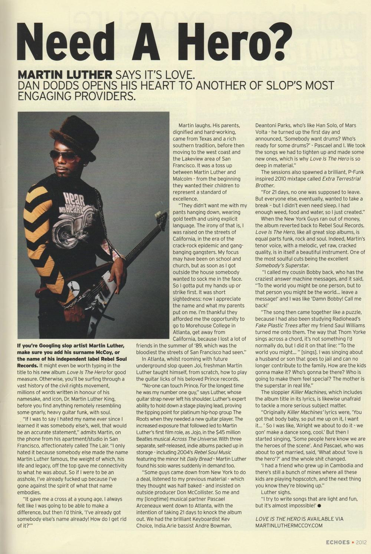 Echoes Magazine Dec 2012
