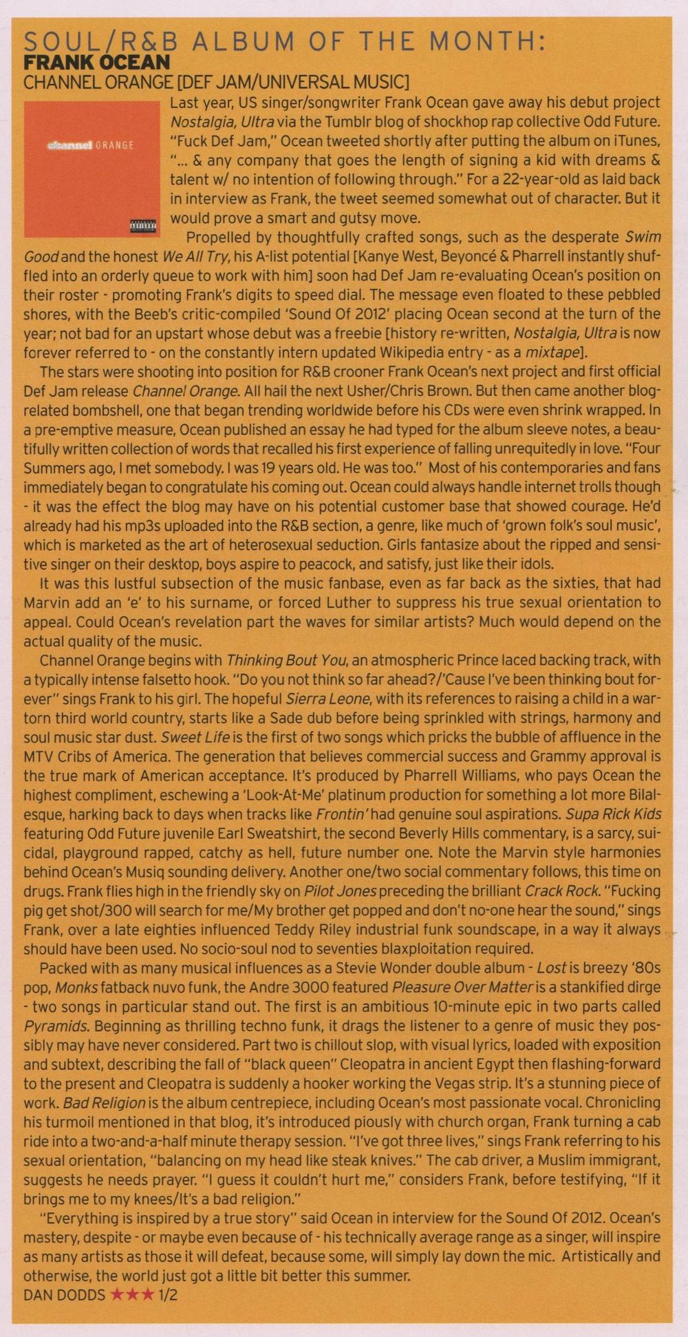 Echoes Magazine Sept 2012