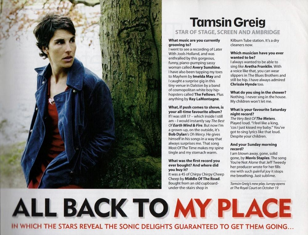 Mojo Magazine Nov 2011