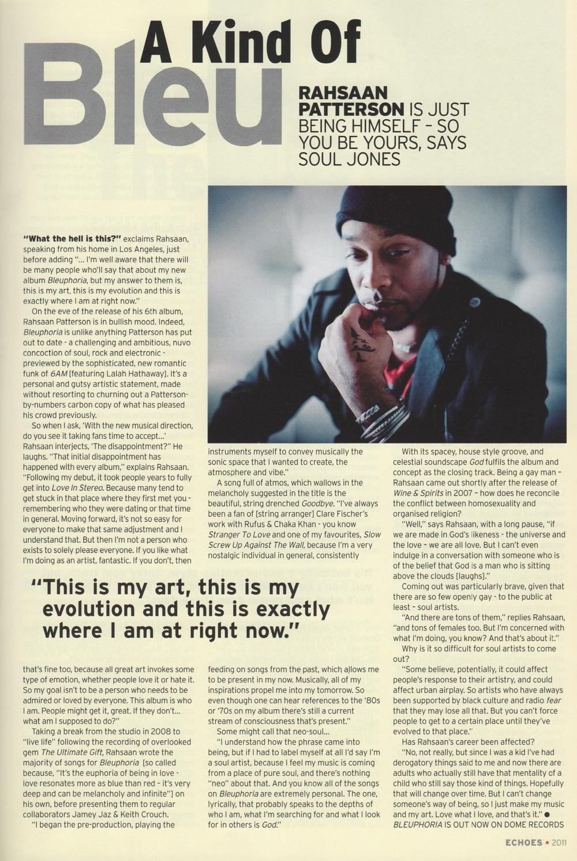 Echoes Magazine Aug 2011