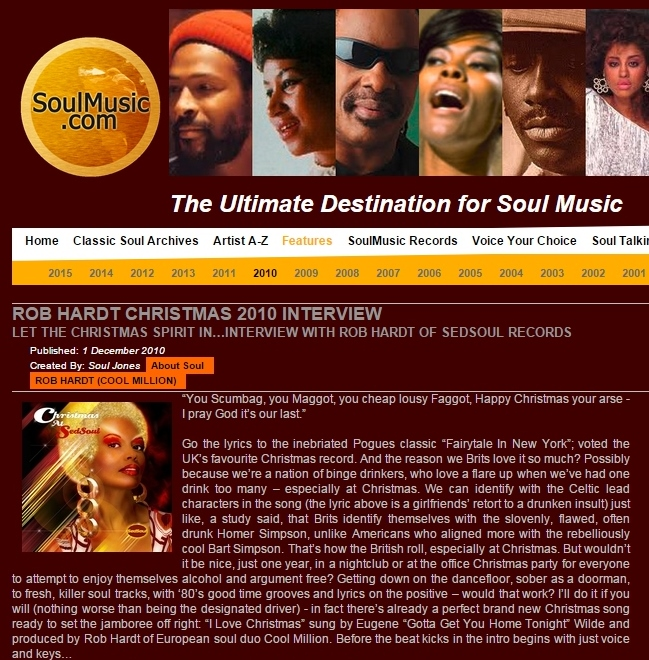 Soulmusic.com Dec 2010