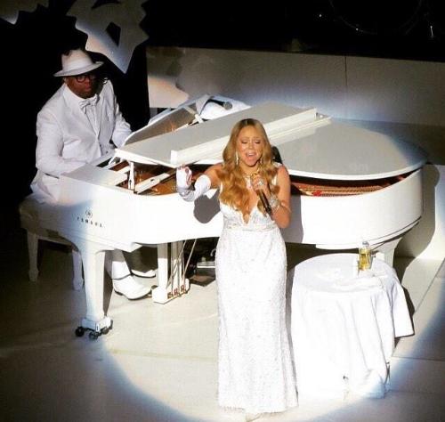 Jimmy Wright & Mariah Carey