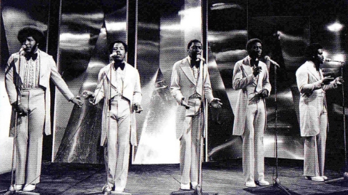 The Stylistics in all their glory