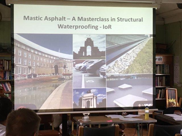 Mastic Asphalt presentation