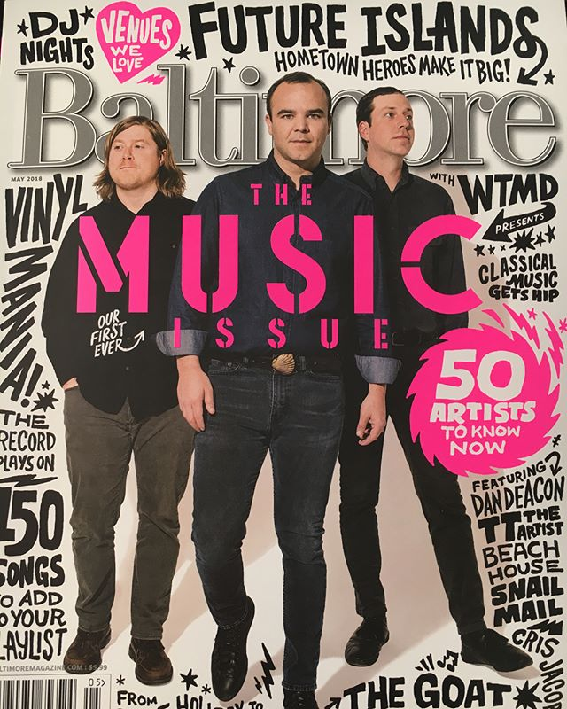It's such an honor to be included in @baltmag Baltimore Magazine's first ever music issue, alongside so many musicians we respect and admire! The launch party is this Thursday at @wtmdradio with live performances by @j_pope_and_the_hearnow @super.city and @wumeworld Come hang out with us and get your copy of the magazine! #baltimoremusic