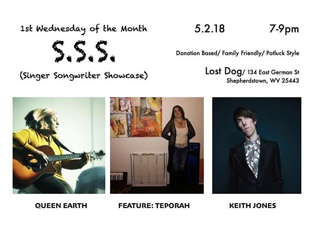 Keith Jones of Fractal Cat is performing a solo set tonight in Shepherdstown, featured alongside @msqueenearth and @teporahmusic ! #singersongwriter