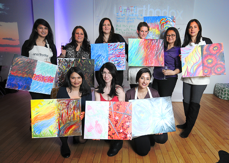 BYOB painting classes NYC